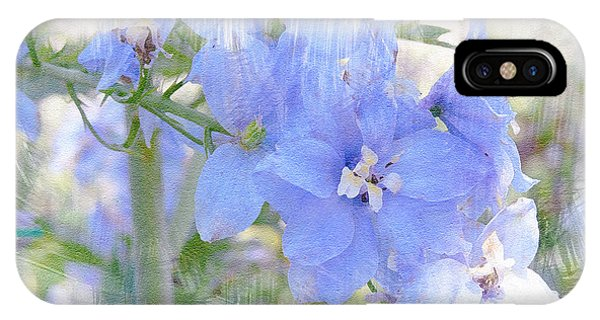 Blue Flower Fantasy IPhone Case