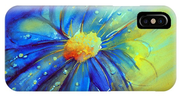 Blue Flower Offering IPhone Case