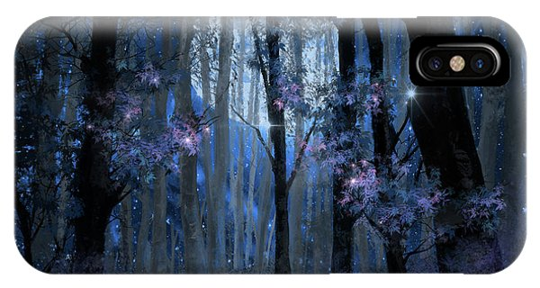 Blue Forest IPhone Case