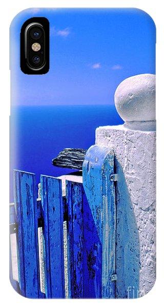 Blue Gate IPhone Case