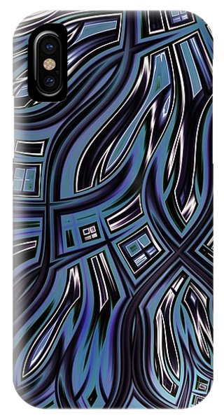 iPhone Case - Blue Glass by Amanda Moore
