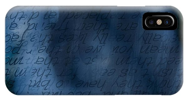 Blue Glimpse IPhone Case