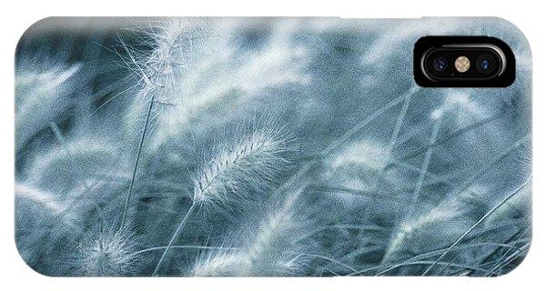 Susann Serfezi iPhone Case - Blue Gras by AugenWerk Susann Serfezi