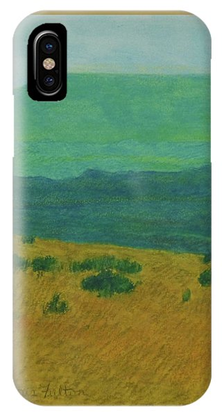Blue-green Dakota Dream, 1 IPhone Case