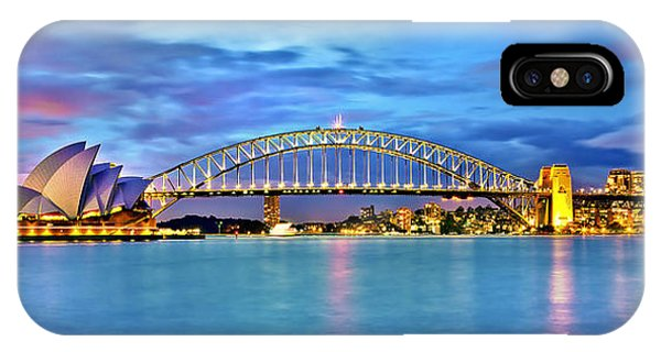 Australia iPhone Case - Blue Harbour by Az Jackson