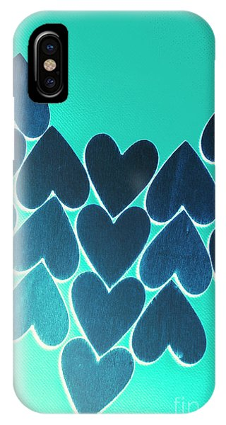Spirituality iPhone Case - Blue Heart Collective by Jorgo Photography - Wall Art Gallery