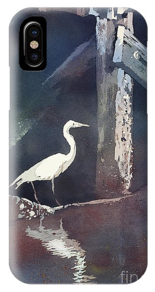 Blue Heron- Outer Banks IPhone Case