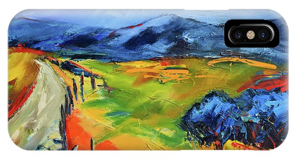 Fauvism iPhone Case - Blue Hills By Elise Palmigiani by Elise Palmigiani