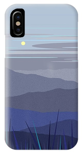 Blue Hills Vertical IPhone Case