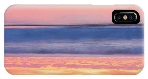 Orange Sunset iPhone Case - Apricot Delight by Az Jackson