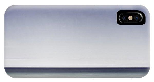 Simple Landscape iPhone Case - Blue Horizon by Scott Norris