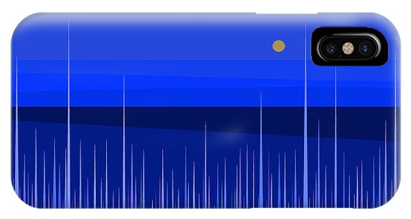 Blue Horizon IPhone Case