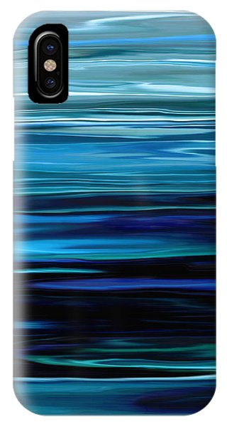 Blue Horrizon IPhone Case