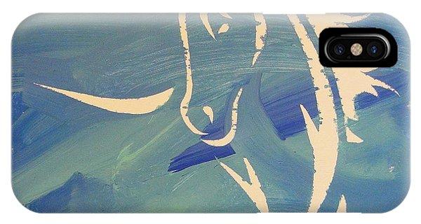 Blue Horse Sky IPhone Case