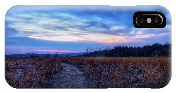 The Nature Center iPhone Case - Blue Hour After Sunset At Retzer Nature Center by Jennifer Rondinelli Reilly - Fine Art Photography