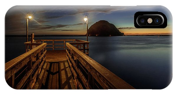 Blue Hour At Morro Bay IPhone Case