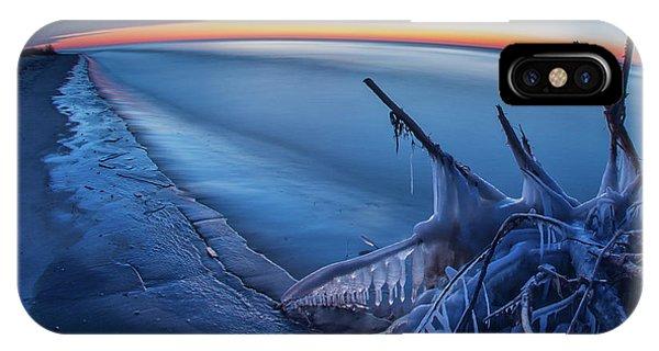 Blue Hour Fisheye IPhone Case