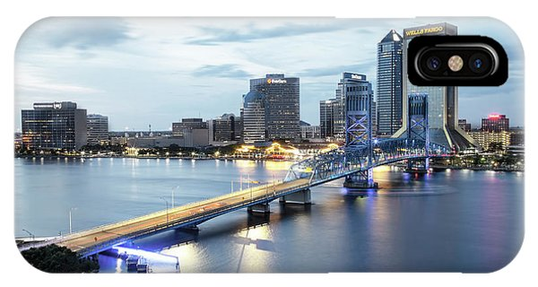 Blue Hour In Jacksonville IPhone Case