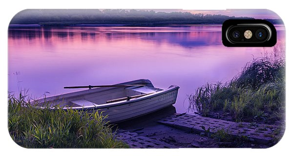 Blue Hour On The Vistula River IPhone Case