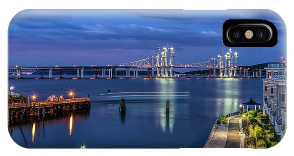 Blue Hour Over The Hudson IPhone Case