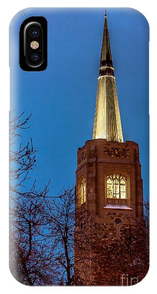 Blue Hour Steeple IPhone Case