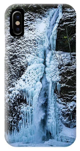 Blue Ice And Water IPhone Case