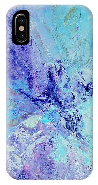 Blue Indigo IPhone Case