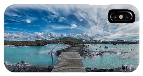 Michael iPhone Case - Blue Lagoon  by Michael Ver Sprill