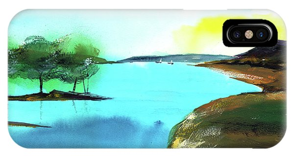 Blue Lake IPhone Case