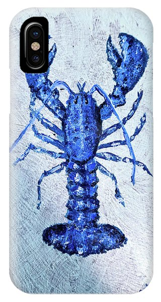 Blue Lobster 1 IPhone Case