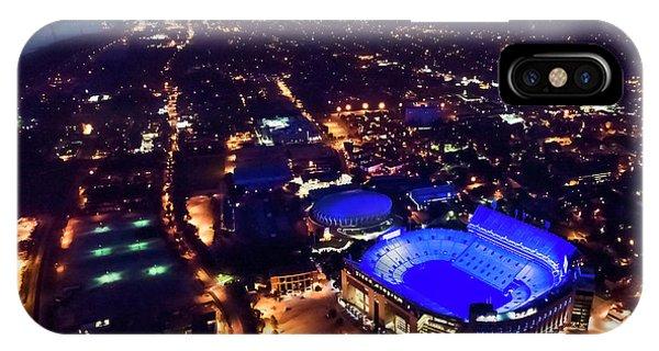 Blue Lsu Tiger Stadium IPhone Case