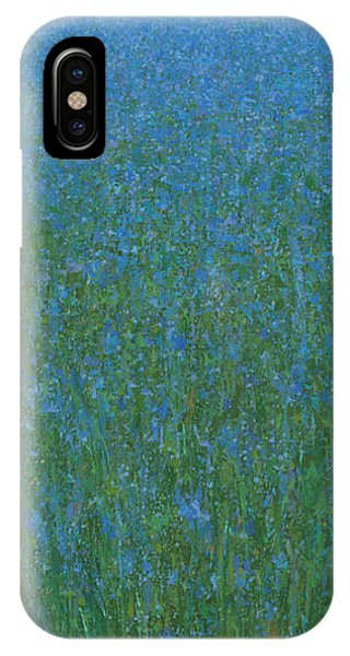 Blue Meadow 1 IPhone Case