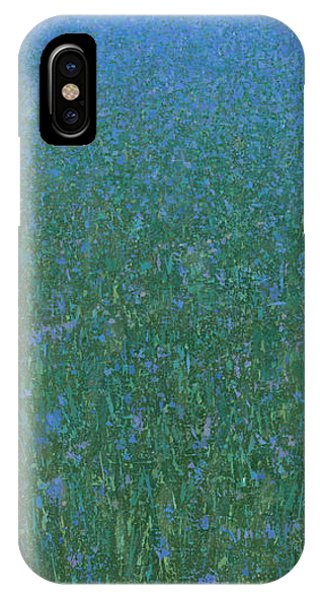 Blue Meadow 2 IPhone Case