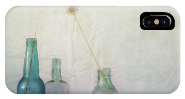 Ink iPhone Case - Blue Memories by Priska Wettstein