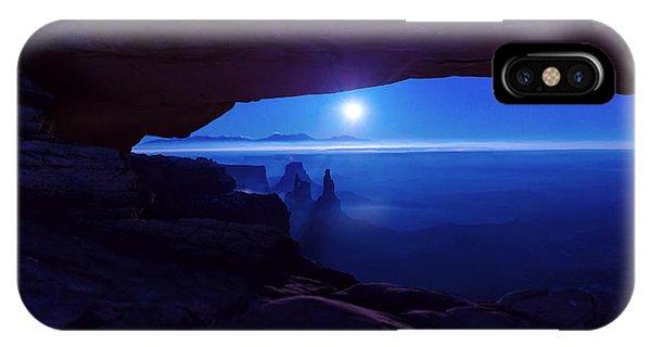 Blue Mesa Arch IPhone Case