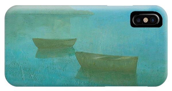 Blue Mist At Erbalunga IPhone Case