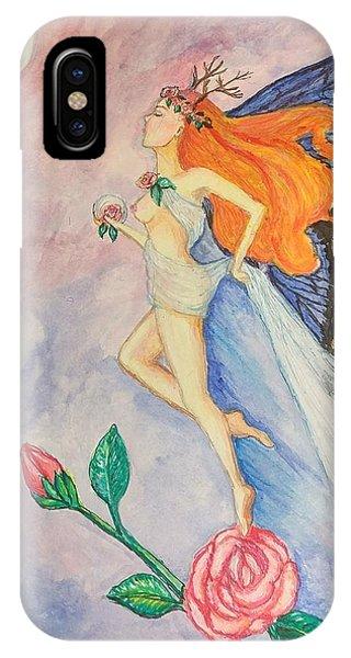 Blue Moon Dancer IPhone Case