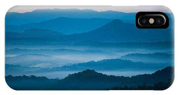 IPhone Case featuring the photograph Blue Morning by Joye Ardyn Durham