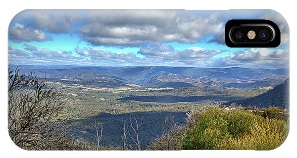 IPhone Case featuring the photograph Blue Mountains, New South Wales, Australia by Elaine Teague