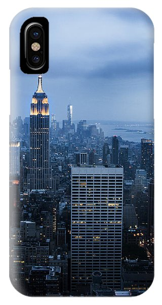 Blue New York IPhone Case