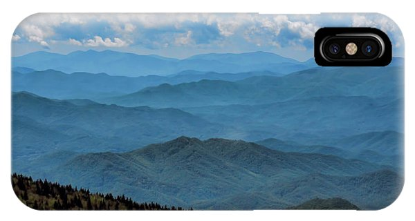 Blue On Blue - Great Smoky Mountains IPhone Case