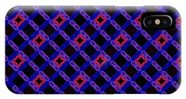 iPhone Case - Blue Overlay by Lisa Marie Towne