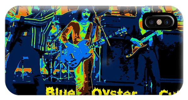 Blue Oyster Cult Jamming In Oakland 1976 IPhone Case