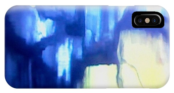 Blue Patterns IPhone Case