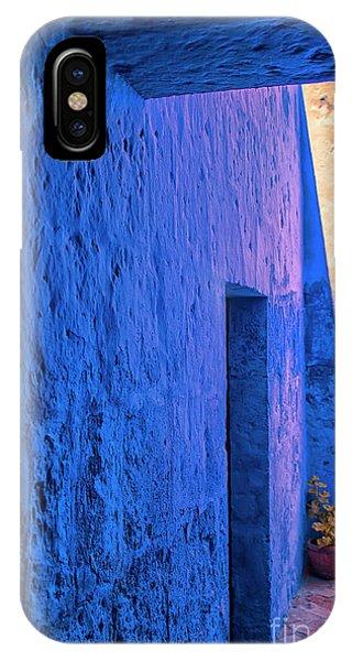 Blue Peru IPhone Case