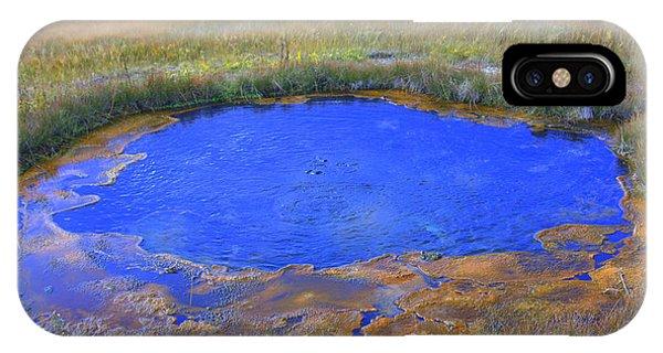 The Eye In Yellowstone IPhone Case
