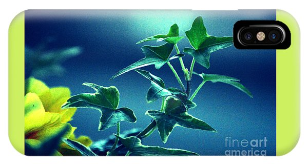 Blue Power  IPhone Case