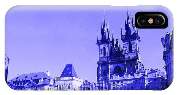 Blue Praha IPhone Case