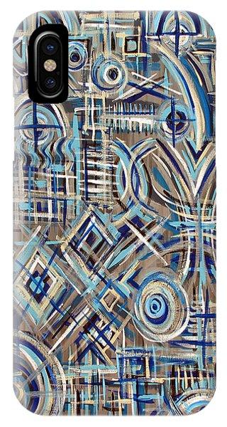 Blue Raucous IPhone Case