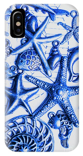 Nature Still Life iPhone Case - Blue Reef Abstract by Jorgo Photography - Wall Art Gallery